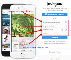 cara membuat instagram baru di komputer langkah cara mendaftar akun instagram di pc bahasa indonesia