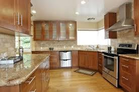 oak kitchen cabinets with oak flooring oak cabinets ideas on foter