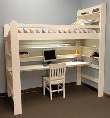 bureau bois ikea le lit mezzanine avec bureau est l ameublement créatif pour les
