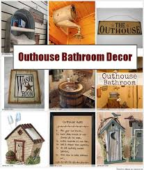 Country Bathroom Accessories by Počet Nápadov Na Tému Outhouse Bathroom Decor Na Pintereste 17