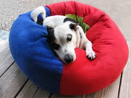Cat Bed Pattern Cat And Dog Fleece Donut Bed Instant Download Sewing Pattern Pdf