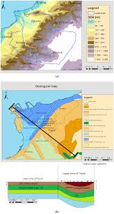 Arizona Aquifer Map by Water Free Full Text Impact Of Demographic Growth On Seawater