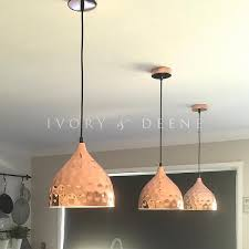 Copper Pendant Lights Pendant Light Chic Hanging L Pendant