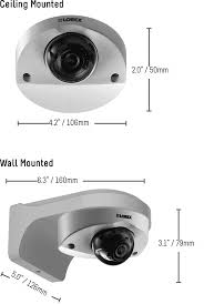 audio enabled hd 1080p dome security camera lorex