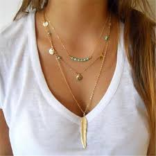 silver boho necklace images Third times a charm necklace diadem boutique jpg