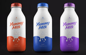 milk design 18 milk packaging designs