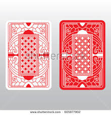 Playing Card Design Template Laser Cut Template Candle Holder Diy Stock Vector 539836711