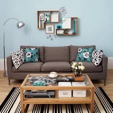wall decor ideas for small living room living room wall decor ideas blue grey floral pattern beautiful wall