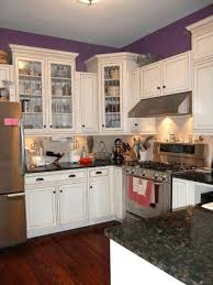 Built In Kitchen Cabinet Built In Kitchen Cabinets Simple White Wooden Counter Curved White