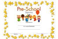 preschool certificates free editable preschool certificates best 10 templates