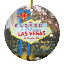 las vegas wedding ornaments keepsake ornaments zazzle
