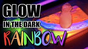 Glow In The Dark Home Decor Diy Glow In The Dark Rainbow Volcano Di Why Youtube