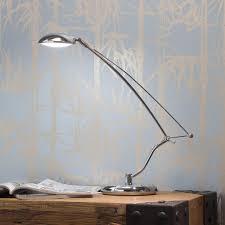 45x led eternity task lamp 4 watt chrome