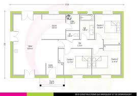 plan maison 90m2 plain pied 3 chambres maison 90m2 plain pied madame ki plan newsindo co