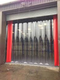 Overhead Door Curtains Air Curtain For Garage Door Decorate The House With Beautiful