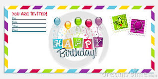 happy birthday simple design happy birthday invitation kinderhooktap com