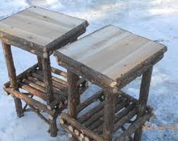 Handmade Outdoor Furniture by Twig Furniture Etsy
