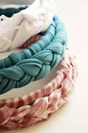 fabric headbands braided fabric headbands dollar store crafts