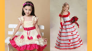 kids party wear gown kids birthday party dress for girls youtube