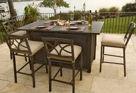 Bar Patio Table Patio Table With Pit Archives Autour