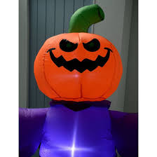 lighted halloween decorations inflatable halloween airblown in door out decorations scary
