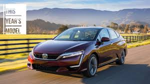 2018 honda clarity burns hydrogen not rubber in new york the drive