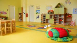 colorful interior kindergarten vinohrady prague stay