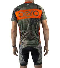 orange cycling jacket woodlands camo cycling jersey by aero tech designs