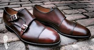 light brown monk strap shoes shoepassion double monk shoe review gentleman s gazette