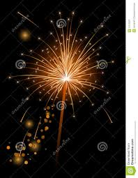 vector realistic sparkler royalty free stock photography image