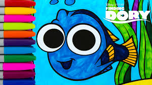 finding dory baby dory coloring book episode colors crayola kids