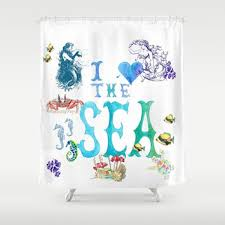 Surfer Shower Curtain Shop Sea Turtle Shower Curtain On Wanelo