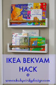 bekvam somewhat quirky ikea bekvam spice rack hack