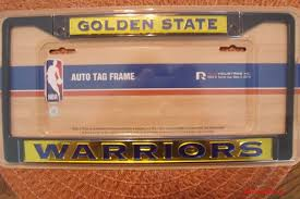 byu alumni license plate frame nba official golden state warriors chrome auto license plate frame