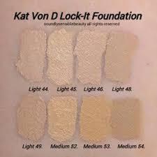 kat von d 44 light cool kat von d other kat von d foundation in light 44 cool poshmark