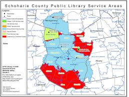 Map Of Albany New York by Schoharie County Find Your Public Library In New York State