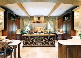 elegant round kitchen island ideas with cabinets 3614
