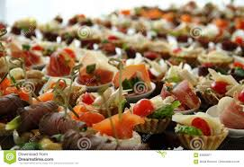 cocktail party canape set stock photo stock photo image 83606871