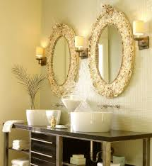 Gold Frame Bathroom Mirror Bathroom Ideas Double White Framed Cheap Oval Bathroom Mirrors