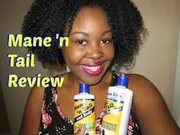 Coloring Natural African American Hair Mane U0027n Tail Shampoo U0026 Conditioner Review Hair Growth Youtube
