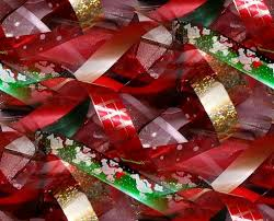 christmas ribbons and bows holidays christmas backgrounds and background html codes