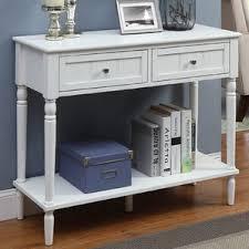 Sofa Table Desk by White Console U0026 Sofa Tables You U0027ll Love Wayfair