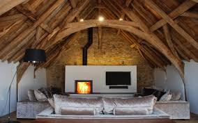 medieval barn conversion bude the bazeley partnership