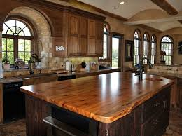 wood countertops cherry premium wide plank lshape countertop spalted pecan book matched slab wood island top with natural edges and an integrated spalted pecan