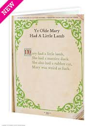 mary had a little lamb funny birthday card brainboxcandy com