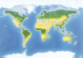 World Map Of Deserts Where Are Deserts Found Desert Information Dk Find Out