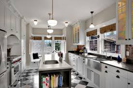 Polished Kitchen Floor Tiles - black and white kitchen tiles outofhome