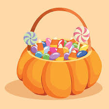 Candy Basket Halloween Candy Basket Clipart Clipartxtras