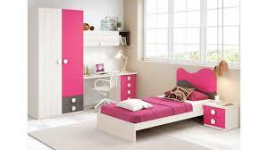 chambre de fille chambre fille de couleur peps avec lit 1 personne glicerio so nuit