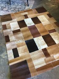 Patchwork Area Rug 5 X 7 Cowhide Large Patchwork Area Rug Invio Furniture